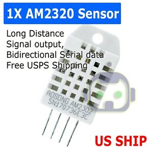 Dht22 am2302 Digital Temperature And Humidity Sensor Replace Sht11 Sht15 Arduino