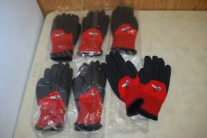 6 Pack Cordova 3905 Cold Snap Max Thermal Lined Pvc Work Gloves Size Xxl