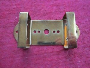 2 Antique Vintage Suitcase Luggage Steamer Trunk Coat Hanger Bracket Part 1