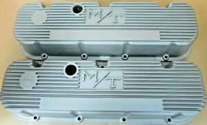 Mickey Thompson 140r 48 Bb Chevy Alum Valve Covers Painted
