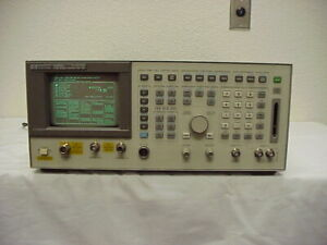 Hp Agilent 8924c And Radio Service Monitor