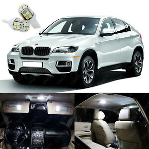 21 X Bright White Led Interior Light Package Kit Deal For Bmw X6 E71 2008 2014