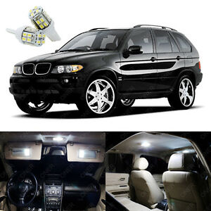 21 X Xenon White Led Interior Light Package Kit Deal For Bmw X5 E53 2000 2006