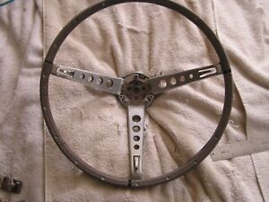 Vintage Ford Mustang Steering Wheel
