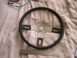 Vintage Three 3 Spoke Steering Wheel Hot Rat Rod Well Made
