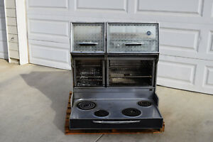 1960 s Frigidare Custom Imperial 2 Door Electric Oven Flair Stove Range Working
