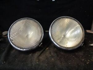 1929 1930 1931 Guide Twilite Headlights Pair Dodge Ply Other Depress Beam