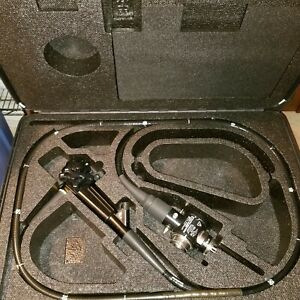 Olympus Cf 140l Colonoscope W valve Covers Carry case