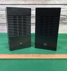 2 Moducom Police Fire Dispatch Console Speakers
