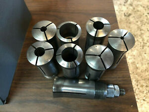 15 Used Hardinge Collet Set Manual Lathe Cnc Lathes