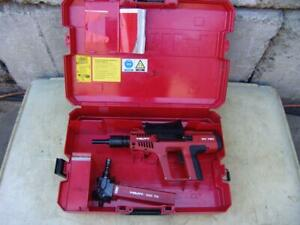 Hilti Dx 750 With Mx 75 Magazine Powder Actuated Nail Stud Gun Works Great
