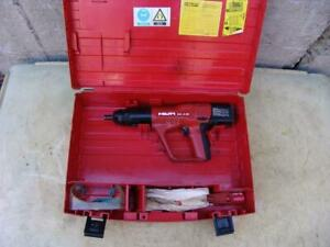 Hilti Dx A40 Powder Actuated Nail Stud Gun Works Great