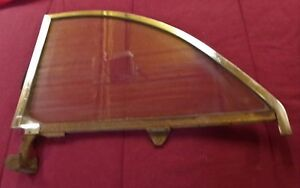 1949 And 1950 Ford Convertible Drivers Side Quarter Window