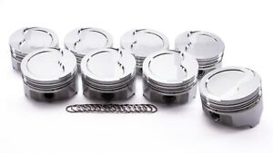 Olds 455 Forged D cup Piston Set 4 156 255cc Icon Pistons Ic887 030