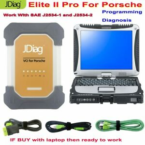 Auto Scanner Jdiag Elite Ii Pro For Porsche Diagnostic Programming Offline