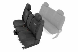 Rough Country Neoprene Seat Covers For 99 06 Chevy Silverado 1500 Ext Cab Front