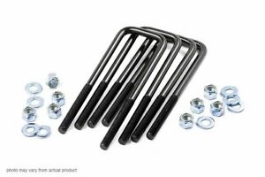 Rough Country 9 16 Square Suspension U Bolts 2 5 X 15 5 Universal 7656