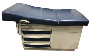 Ritter Midmark 204 Patient Medical Exam Table With Stirrups Obgyn