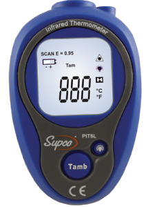 Supco Pit6l Mini Infrared Thermometer 4 To 518 Degree F Handheld Fluke