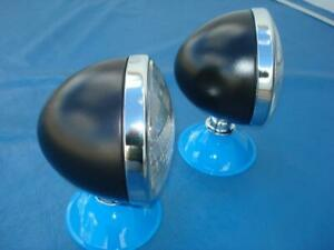 Model A Ford 1928 29 30 31 1932 Pu Primered Dietz Style Sealed Beam Headlights