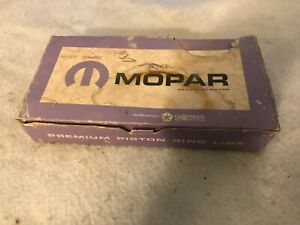 Nos Mopar 59 60 61 62 63 64 65 66 Wide Block Poly 318 Piston Ring Set Standard