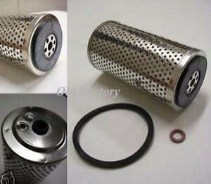 Peugeot 203 403 404 Oil Filters 2 Pieces New Recently Made