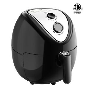 Rovsun 1800w 6 87qt Electric Large Deep Air Fryer Timer Temperature Control Safe