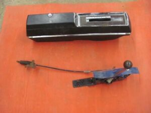 68 69 Oldsmobile Olds Cutlass 442 Center Console W Auto Shifter Hurst 1968 1969