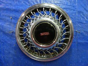 1991 To 1993 Chrysler Imperial 14 Locking Wire Spoke Hubcap Wheel Cover