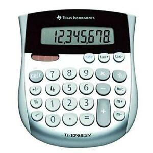 Wholesale Case Of 15 Texas Inst Angled 8 digit Display Calculator 8 digit S
