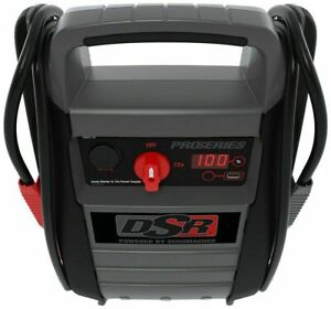 Heavy Duty Truck Battery Booster Pack Jump Starter Box Portable 2200 Amps Power