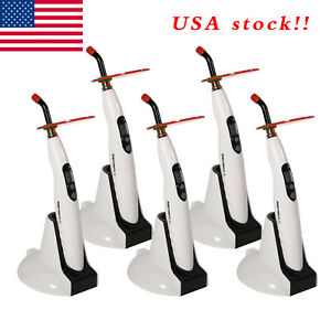 5 usa Dental Led Wireless Cordless Curing Light Lamp 1400mw Woodpecker Style S f