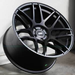 Esr Rf1 Wheels 18x9 5 18x10 5 22 5x120 Matte Black Rotary Forged Rims Set 4