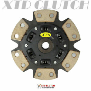 Xtd Racing 6 Puck Stage 3 Clutch Disc 92 01 Integra Ys1 Hydro