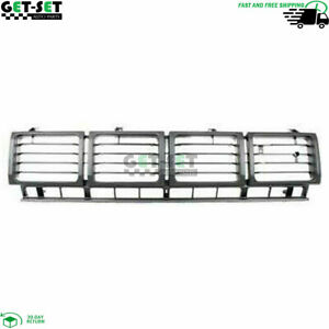 New Toyota Pickup 4wd Fits 1980 1981 Front Grille Plastic Painted Blak To1200143