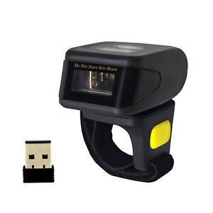 Symcode 1d Wireless Bluetooth Ring Barcode Scanner Reader Fr Mac Os Android ios