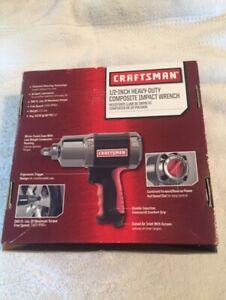 Craftsman 1 2inch Heavy duty Composite Impact Wrench