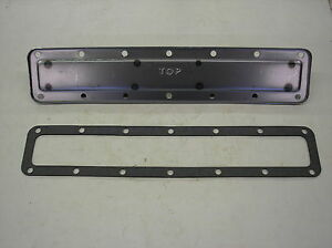 Ih Farmall H Sh 300 350 New Water Jacket Plate Gasket 19 9 12