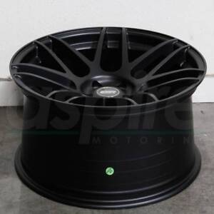 18x9 5 22 5x114 3 Esr Rf1 Wheels Concave Matte Black 18 Rotary Forged Set 4