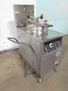 b K I Lpf f48 Commercial Hd Large Capacity 208v 3ph Electric Pressure Fryer