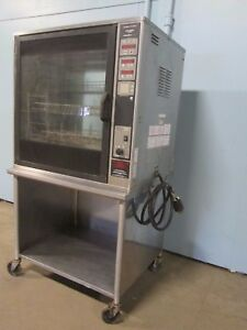 henny Penny Scr 8 02 H d Commercial nsf 208v 3ph Electric Rotisserie Oven