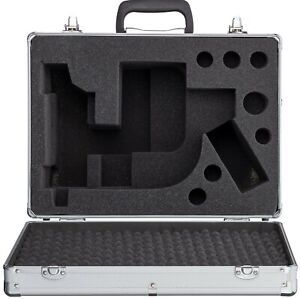 Aluminum Microscope Case For Amscope B360 T360 Series