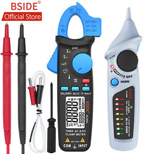 Bside 1ma Ac dc Digital Clamp Meter Car Repair Tools Auto Range Ncv Multimeter
