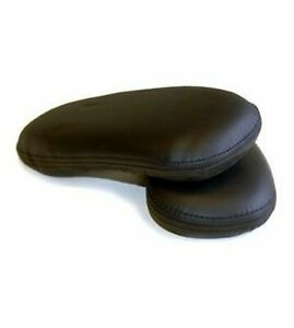 Herman Miller Leather Armpads For Classic Aeron Chair 2 Pack Black Leat New