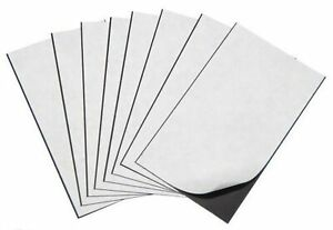 Marietta Magnetics 25 Magnetic Sheets Of 8 5 X 11 Adhesive 20 Mil New