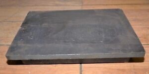 65 Lb Webbed Cast Iron Ground Surface Plate Machinists Lay Out Inspection Tool