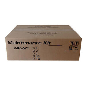 Genuine Kyocera Mita Km 2540 Copystar Cs 300i Maintenance Kit 1702k57us0 Mk671