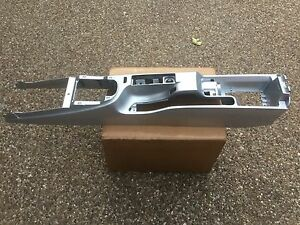 Porsche 997 987 Oem Factory Convertible Center Console Aluminum Silver Finish