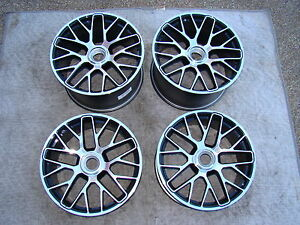 Porsche Brand New Oem Factory Original Equipment 20 991 Center Lock Wheel Set