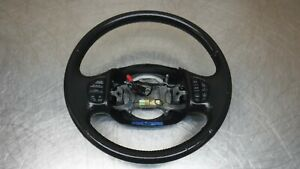 Ford Excursion F250 Lincoln Navigator Leather Black Steering Wheel Audio